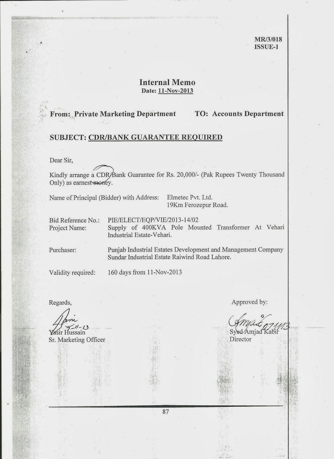 Internal Memo Format Letter DocumentsHub Com